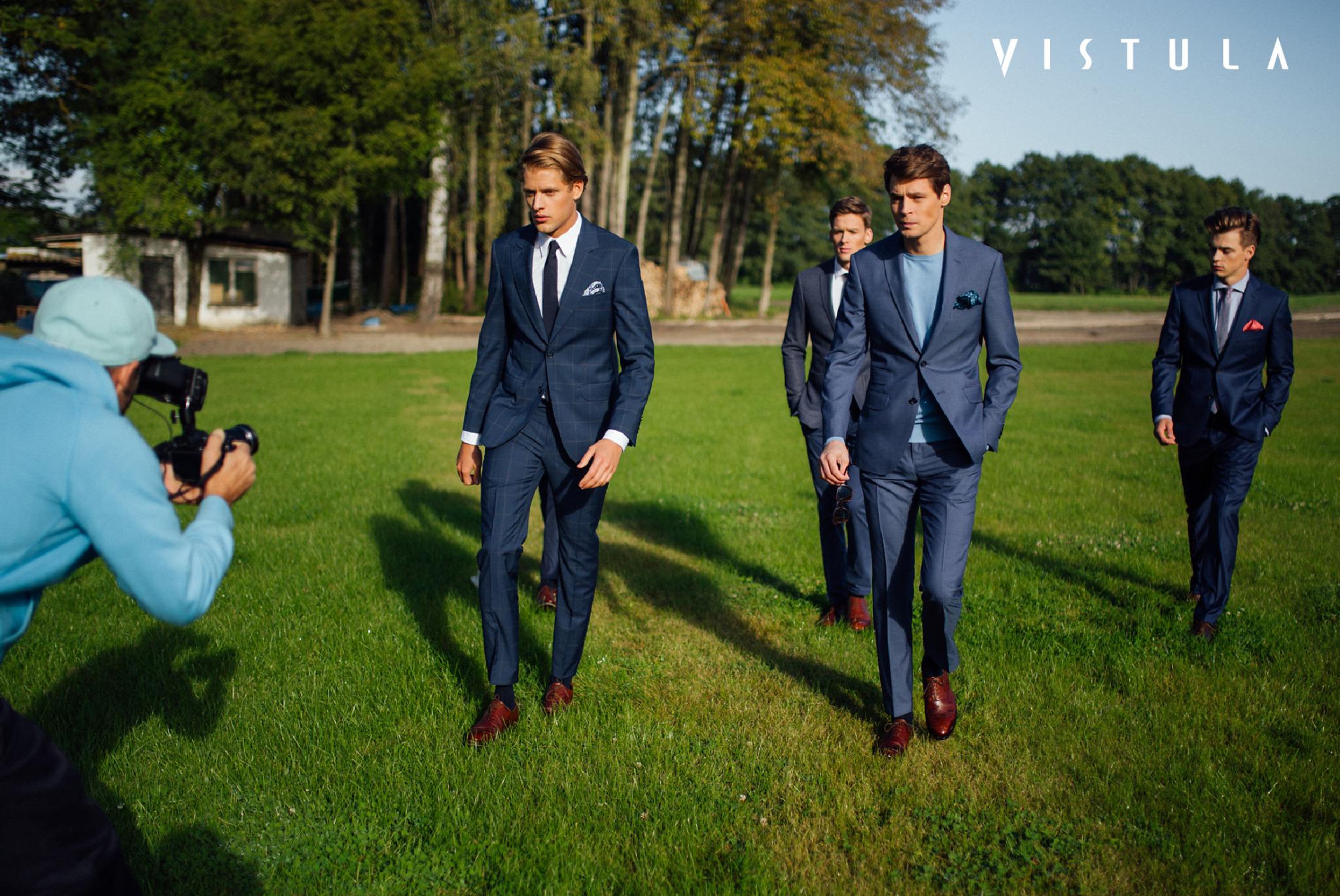 Jakob Kosel w kampanii marki Vistula - kulisy sesji